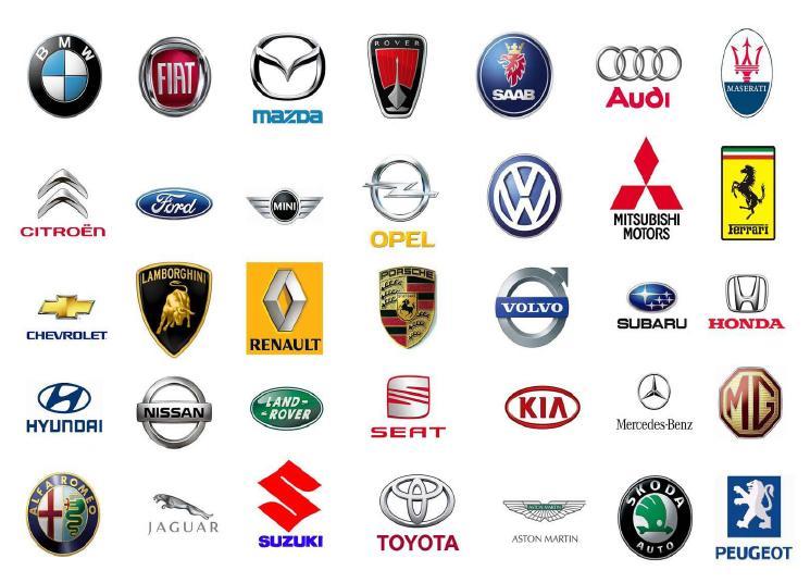 Alle Automerken Logo S Archidev