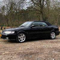 VERKOCHT: Saab 9-3 2.0t automaat cabriolet